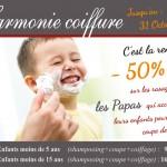 -50% au Barbershop Harmonie Coiffure à Pontoise